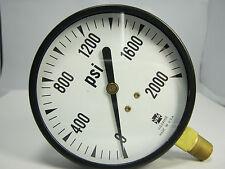 "Pressure Gauge 129259 P500 3 1/2"" 2000 PSI 1/4"" LMC"