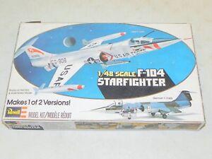 Revell H-236 F-104 Starfighter Airplane Model Kit LNIB