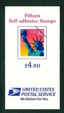 US Scott # BK259 / $4.80 32¢ Statue of Liberty PO Fresh