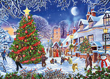 Gibsons - 1000 PIECE JIGSAW PUZZLE - The Village Christmas Tree