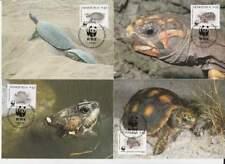 WWF 4 x Card - Venezuela 1992 - Schildpad / Turtle (156)