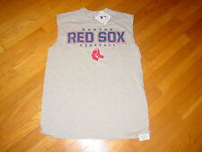 Official MLB Boston RED SOX  sleeveless T-Shirt NEW TAG.....  LARGE