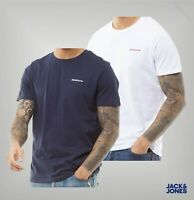Mens Jack And Jones Casual Short Sleeve Crew Neck T Shirt Sizes from S to XXL