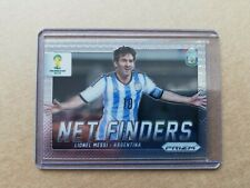 2014 Panini Prizm World Cup Soccer Net Finders Rookie Card Lionel Messi