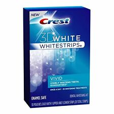 *SALE!!!* CREST 3D WHITE WHITESTRIPS CLASSIC VIVID - TEETH WHITENING KIT