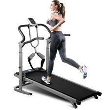 Folding Treadmill Running Jogging Incline Machine Fitness Mechanical Treadmil US