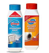 Glisten 3in1 Washer Magic Washing Machine Cleaner Descaler and Deodoriser 350ml