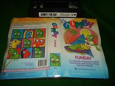 VHS *GUMBY/FUNDAY A COLLECTION - 8 WONDERFUL ADVENTURES* Roadshow Big Box Issue!