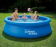 """Summer Waves 10' x 30"""" Quick Set Pool *New* Free Shipping"""