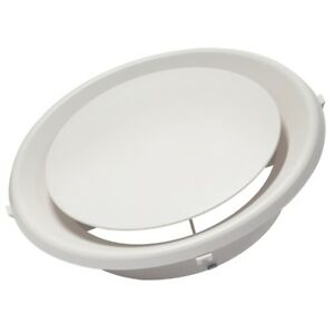 200mm Round Ceiling Cone Diffuser Vent Ducted Heating Cooling Snap In - CD200