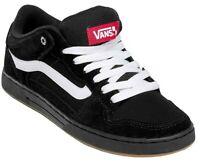 Vans BAXTER Black White Gum Skate Sneakers Casual Canvas Fashion Shoes NIB