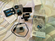 Gopro Hero 7 White Camera With Original Box Used One. Adult Owned
