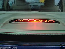 Honda Accord 3rd brake light decal overlay 98 1999 2000 2001 2002 2003 2004 2005
