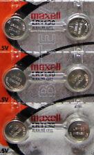LR1130 Maxell 189 389 LR54 SR1130SW AG10 6 Batteries