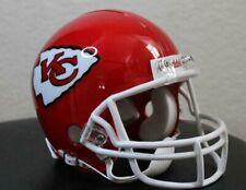 NFL Kansas City Chiefs Priest Holmes Helmet Riddell mini Football NFL Helmet