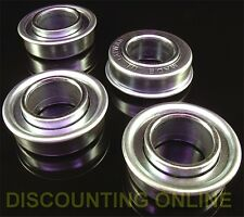 4PK QUALILTY FLANGED WHEEL BEARINGS 3/4 x 1-3/8 FIT SNAPPER 11807,1-1807,70118