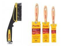 "Purdy Monarch Elite vernice sintetica Brush Set 1x1"", 1.5"" e 2"" + Spazzola Metallica"