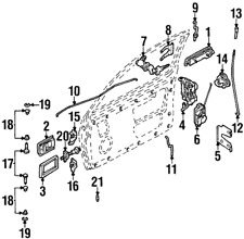 Nissan Clip Ret-Cyl 80590-01E01