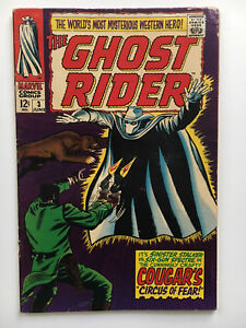 Ghost Rider #3 Western Original 1967 Marvel Comics Silver Age