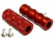 Rouge M6 Pédale Toe Peg Piece Levier de vitesses et frein Shift For Repose-pieds