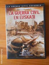DVD LA GUERRA CIVIL EN EUSKADI VOL. 1 (V6)