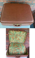 Vintage Suitcase Kane Penna Luggage Olympic Corp Hard Shell Retro Inside No Key