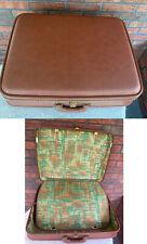 Vintage Suitcase Kane Penna Luggage Olympic Corp Hard Shell Retro Inside No Key