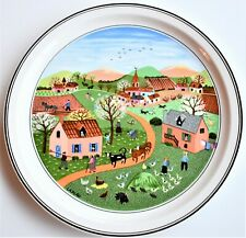 Villeroy & Boch Laplau Naif THE FOUR SEASONS No 1 Spring 23cm diameter
