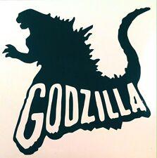 GODZILLA #2 vinyl decal