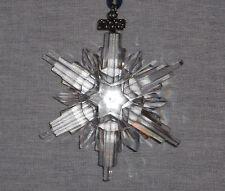 SWAROVSKI CRYSTAL 2006  ANNUAL SNOWFLAKE CHRISTMAS ORNAMENT NEW IN BOX