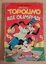 TOPOLINO ALLE OLIMPIADI classici disney 1a prima serie 16 originale 1964 tokyo I