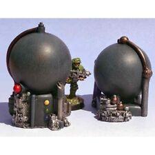 Armorcast Miniature 28mm ACSF002 (2) Large Cryo Tanks Node Necromunda Kill Team