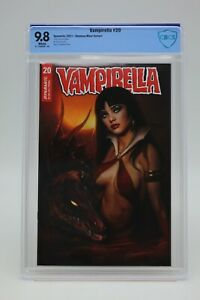 Vampirella (2019) #20 Shannon Maer Variant Cover CBCS 9.8 Blue Label White Pages