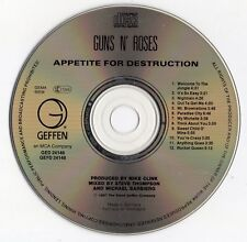 "GUNS N' ROSES ""APPETITE FOR DESTRUCTION"" GERMAN CD / AXEL ROSE - SLASH - McKAGAN"