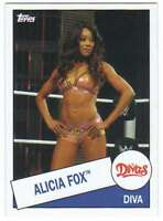 2015 Topps WWE Heritage Wrestling #54 Alicia Fox