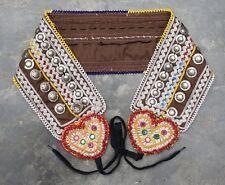 Kuchi Afghan Banjara Belts Mirror Work Tribal Hippie Vintage belly dance belts