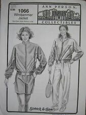 Ann Person Collectibles - Windjammer Jacket 1066 Stretch & Sew (Pattern Only)