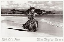"Kim Taylor Reece ""Kai Ola Hia"" Hawaiian Hula Kahiko Poster - New"