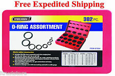 SAE Nitrile Rubber Oring Assortment Kit Automotive O-ring Oil Resistant HD