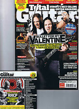BULLET FOR MY VALENTINE / RED HOT CHILI PEPPERSTotal Guitar + CD 202 June 2010