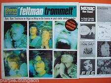 FELTMAN TROMMELT - Feltman Trommelt  LP 1982 GEE BEE DE