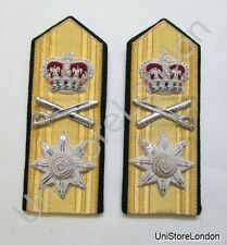 Epaulettes Rear Admiral Shoulder Boards Press Stud & Strap at Back R1032