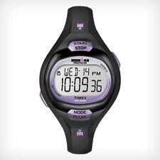 Timex T5K187 Women's Ironman Pulse Calculator Watch, Indiglo, Chronograph