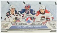 2019-20 Upper Deck AHL Hockey Hobby Box - 2 Autos per Box