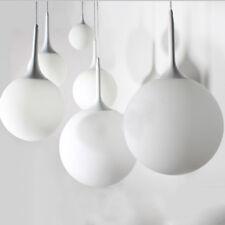 Modern Milk Globe Glass Shade Pendant Lamp Light Chandeliers Ceiling Lighting