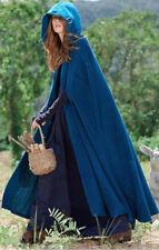 US Womens Lady Winter Warm Coat Wool Poncho Long Jacket Cloak Cape Parka Outwear