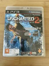 UNCHARTED 2 AMONG THIEVES Game for Sony PlayStation PS3 w/Manual Free Shipping