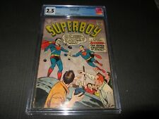 Superboy 68 CGC 2.5, 1st App. of Bizzarro (DC 1958)