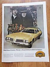 1969 Oldsmobile Olds Vista-Cruiser Station Wagon Ad