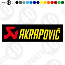 AKRAPOVIC - Vinyl Decals / Stickers -  Akrapovic Exhaust 2604-0419